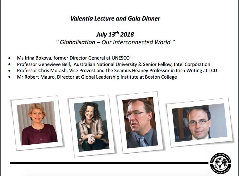 Valentia Lecture Series 2018   Valentia Transatlantic Cable Foundation