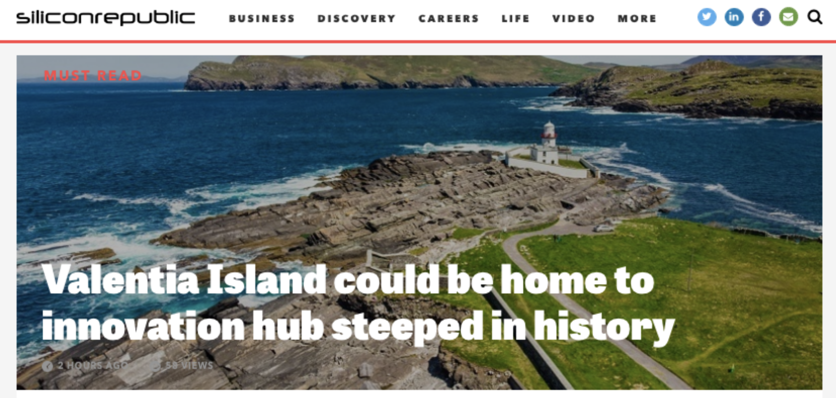 Valentia Island could be home to innovation hub steeped in history | Silicon Republic July 12th 2019